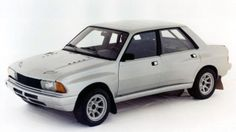 1981 Peugeot 305 Rallye V6 Prototype #1; the V6-powered Peugeot 305 Group B rally car that never was.