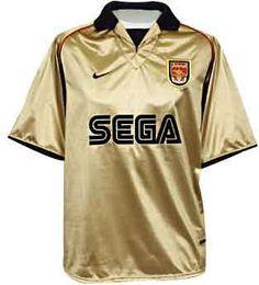 Arsenal FC 2001 Nike Football Kits ce29ada2f