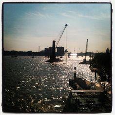 @wereldhavendage prachtig uitzicht vanaf de #erasmusbrug #rotterdam