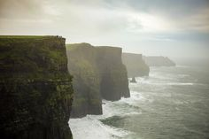 At the end of Europe. Cliffs of Moher by Christian Köster