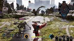Paragon is a Free 2 Play, Thirsd-person perspective, competitive 5v5 MOBA Game that combines the ferocity of third-person action with the deep strategic choice of a MOBA