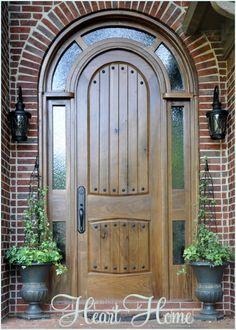 Adding Rustic Clavos to the DIY Tudor door