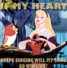 If my heart keeps singing will my song go winging?