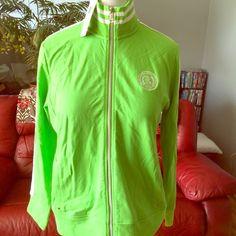 Ralph Lauren jacket Ralph Lauren beautiful green track jacket. Brand new with tags. No trades. Ralph Lauren Tops Sweatshirts & Hoodies