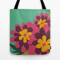 My latest design on Society6 http://society6.com/product/flowers-for-lola-gfk_bag#26=197]... I'm constantly uploading new ones so keep your eyes peeled!