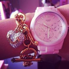 GUESS watch, Juicy Couture bracelet<3