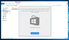 Con l'ultima build di #Windows 10 #Creators Update è stata aggiunta la possibilità di bloccare i programmi desktop installando e utilizzando solamente le app distribuite tramite il #WindowsStore.  Link articolo: http://hardwarepcjenny.com/network/blog-news/windows-10-creators-update-puo-essere-trasformato-in-windows-rt/