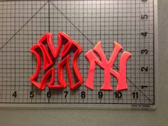 New York Yankees Cookie Cutter by JBCookieCutters on Etsy, $4.50