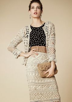 Ivelise Feito à Mão: Dolce & Gabanna Crochet