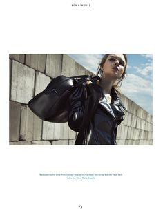 Show Down   Josephine Skriver   Benny Horne #photography   Bon Magazine 22 Fall 2012