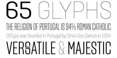 Solido Typeface - 9 different weights