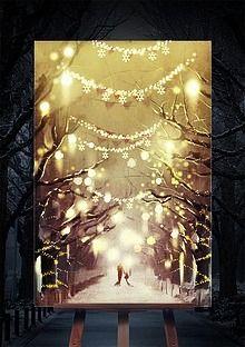 #winter, #snow, #light, #people, #chiristmas #iclickart  #겨울, #눈, #빛, #크리스마스, #아이클릭아트