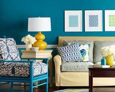 Veja qual a cor indicada para cada ambiente da sua casa e acerte nas tonalidades para a sala, cozinha, quarto e demais ambientes.