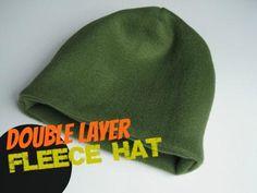 Fleece Hat: Homemade Christmas Gifts
