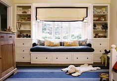 A Dream House for Trish: Just dreamy window Seats