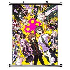 Dangan Ronpa Anime Fabric Wall Scroll Poster (16 x 23) In…