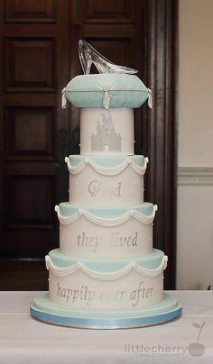 Little Cherry Cake Company - Cinderella Wedding Cake