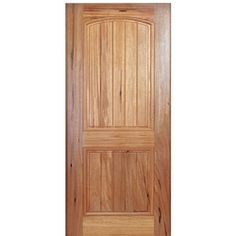MAI Doors A79PI-1 Alpine V-Grooved 2-Panel Design Square Top Interior Door in Walnut Doors, Single Doors, Walnut Doors, Traditional Interior, Panel Design, Tall Cabinet Storage, Paneling, Home Styles, Traditional Doors