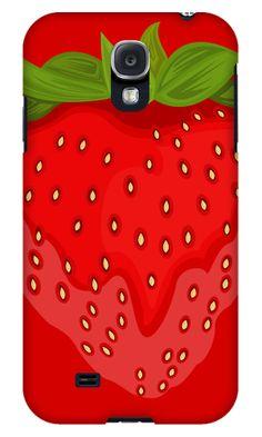 """Strawberry"" Samsung Galaxy Cases by Adamzworld | Redbubble   #berries"