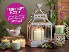 www.partylite.biz/connieyelinek  Join PartyLite Preferred, our FREE rewards program and start earning rewards of 20% on your individual orders and 10% on your all your show sales.  Go to my website to sign up today.