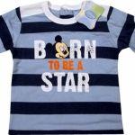 Alege Bluza Mickey - Baby906 A (Haine copii cu personajul Mickey , 5-6 luni, bluze) Mickey Mouse, High School Musical, Disney, Mens Tops, T Shirt, Fashion, Character, Supreme T Shirt, Moda