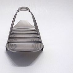 Old Hall Robert Welch 4-slice toast rack1960s/70s retro MCM 18/8 stainless steel