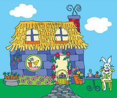 bunny cottage; www.leighhannan.com