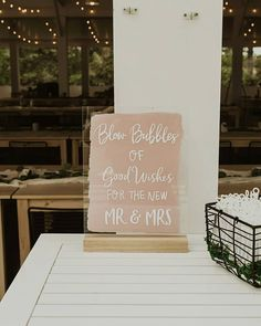 Ceremony and reception sign | bubbles at weddings | blow bubbles for the mr and mrs | wedding ideas and inspiration from the Wedding Shoppe's instagram! Wedding Shoppe, Diy Wedding, Wedding Ceremony, Wedding Photos, Wedding Ideas, Reception Signs, Wedding Reception Decorations, Unique Weddings, Real Weddings