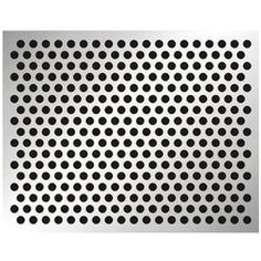 Perforated Plate Steel Galvanised Hole Plate Hole Mesh Basement Window Grille Strip