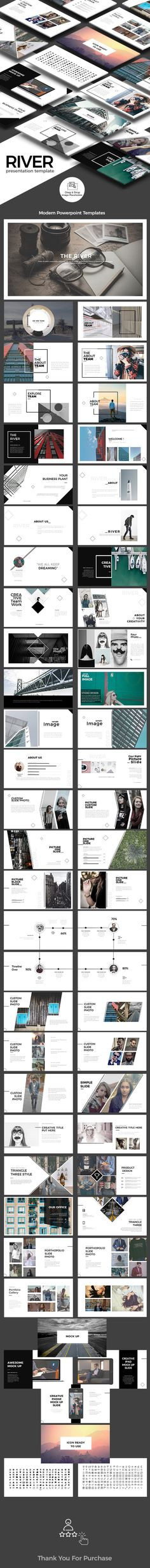 River - PowerPoint Presentation Template