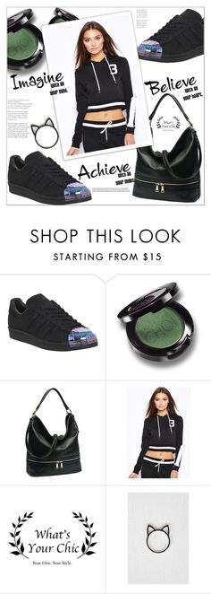 """WhatsYourChic"" by mycherryblossom ❤ liked on Polyvore featuring adidas, fab, shopping, polyvoreeditorial, polyvorestyle and WhatsYourchic"