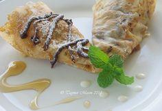 Vegan Crepes & Hazelnut Chocolate Spread
