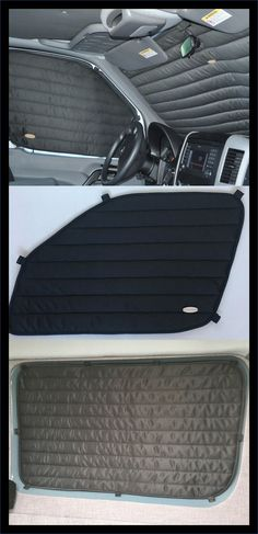 Got Sprinter Windows? These custom fitted curtains are tailored to perfectly fit your windows, kee. Car Camper, Mini Camper, Camper Van, Motorhome, Montero Sport, Insulated Curtains, Honda Element, Rv Accessories, Car Gadgets
