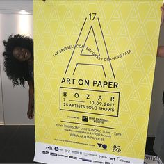Art On Paper Brussels (@artonpaperbrussels) • Instagram photos and videos