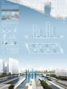 Akihisa Hirata's 2011 Foam Form project for the harbor city of Kaohsiung,  Taiwan. Image courtesy of Akihisa Hirata Architecture Office And Kuramochi  + Oguma