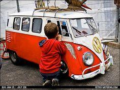 Cute kid's VW Camper Van pedal car | Flickr - Photo Sharing!