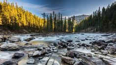 ***Autumn in mountains (Sunwapta River, Jasper, Alberta) by Haim Rosenfeld on 500px