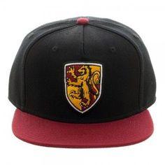 Harry Potter Gryffindor Crest Snapback Cap Hat Baseball Hats b1dceadde4b7