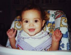 Madison Pettis as a baby