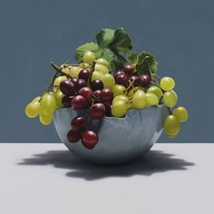 Sometimes - www.alexemsley.com Painting Still Life, Serving Bowls, The Selection, It Works, Fruit, Tableware, Food, Paintings, Dinnerware