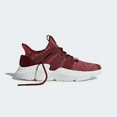 a1ba38f4dc35 ADIDAS ORIGINALS PROPHERE SNEAKERS MAROON RED SHOES SIZE 7 NEW  adidas   FashionSneakers Tubular Defiant