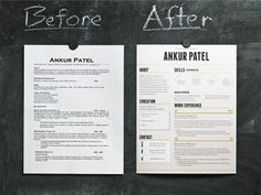I love how you're now encouraged to make your resume pop with fun fonts & layouts!