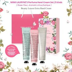 MIMI LAURYNE Perfume Hand Cream 3 Kinds 50 ml Set NichePerfume 3 Hours LongScant…