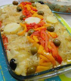 O Bacalhau ao Forno é uma receita de bacalhau fácil, deliciosa e que vai agradar toda a sua família. Não perca tempo e anote já a receita!