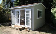 Studio Shed, Tiny Studio, Dream Studio, Outdoor Sheds, Outdoor Rooms, Outdoor Living, Backyard Studio, Garden Studio, Garden Shed Kits