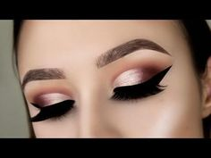 Morphe x Jaclyn Hill Palette Makeup Tutorial // Warm Toned Half Cut Crease - jaclyn hill, makeup looks , jaclyn hill palette makeup looks , tutorial, beauty , morphe brushes, step by step, paso a paso, beginners #cutcreasestepbystep