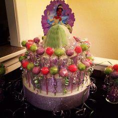 Princess Tiana Make Cake pop stand with bling and 24 bling sticks | aprincesstutu4u -  on ArtFire