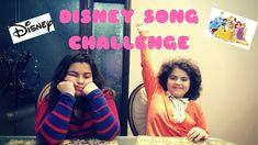 DISNEY SONG CHALLENGE | AZee