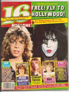 1980 February 16 Magazine KISS LEIF Cheap Trick