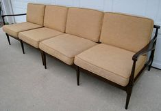 Vintage mid century Danish modern sectional sofa by Selig
